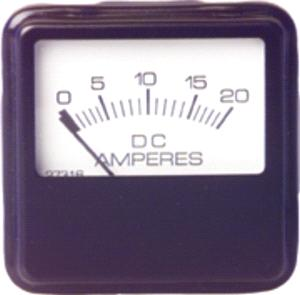 Club Car, 48-volt/20 Amp Ammeter