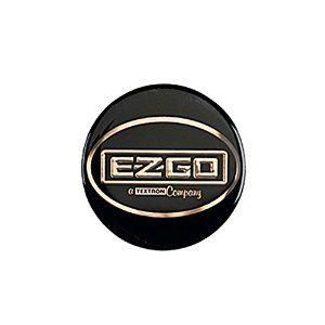 EZGO Decal for Steering Wheel on ST/LX Cowl (OEM)