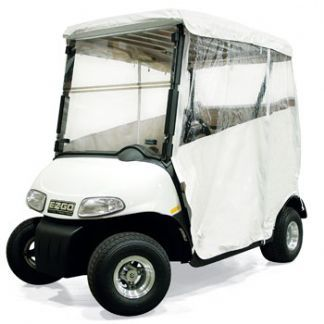 EZGO, Medalist, TXT 1994-06, Enclosure, 3 sided, White