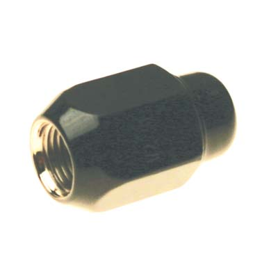 "LUG NUT,BLACK 1/2""-20"