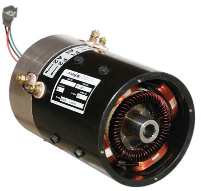 MOTOR; ADVANCED, YAMAHA G19 & G22 48V