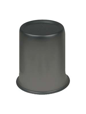 Satin black center cap - 2.65