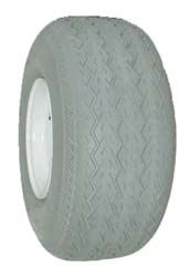 Grey non marking D.O.T. turf/trailer tyre, 18.5x8.50-8 6ply