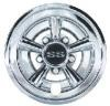 Wheel Cover, Crager ss, Silver Metallic