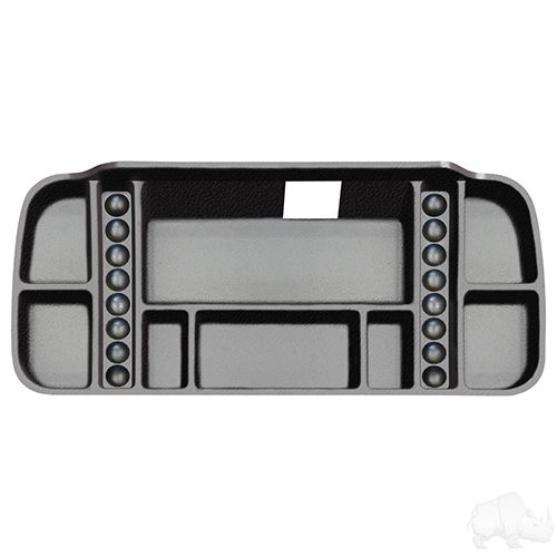 Underseat Storage Tray, Black, Yamaha Drive2, Electric Only